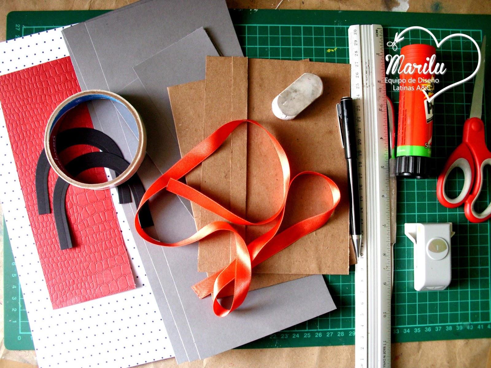 c2d156764 Latinas Arts and Crafts: Tutorial # 44: Mini Album Estilo Cartera.