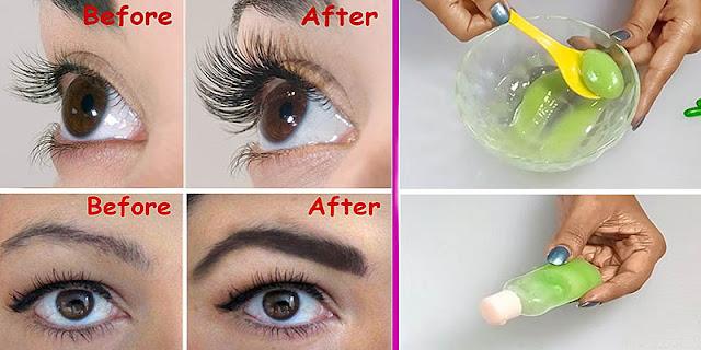 Cómo crecer pestañas y cejas más largas / más gruesas en una semana / Cómo crecer las pestañas