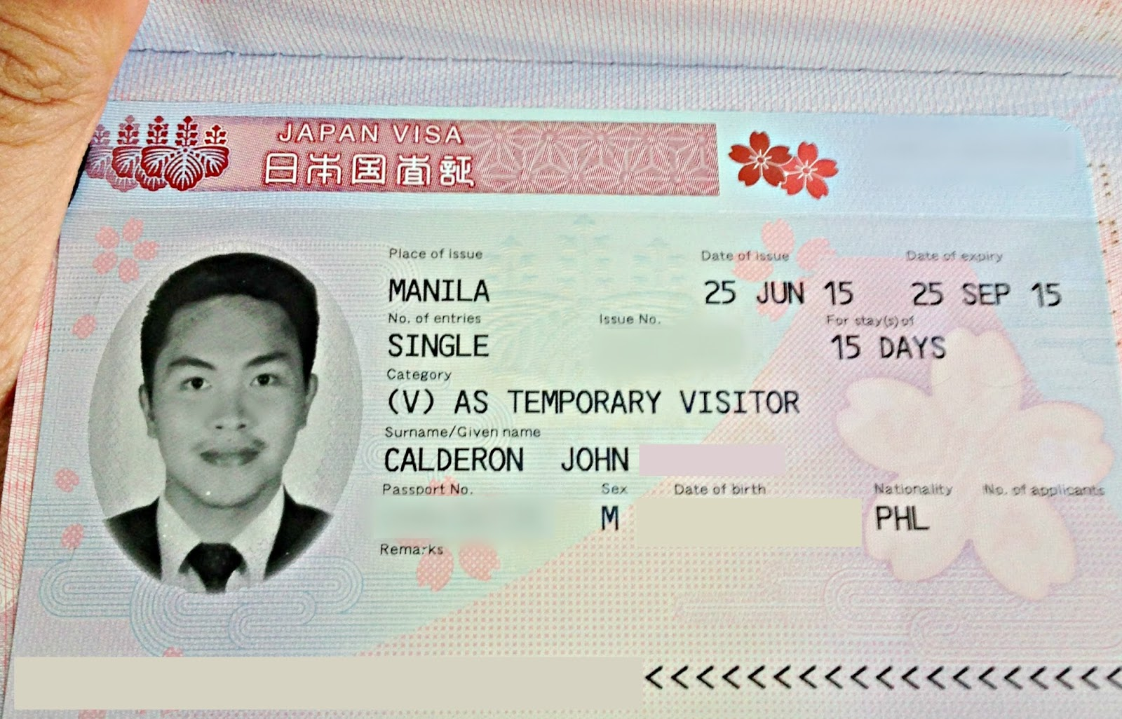 Reli Tours Japan Visa Denied