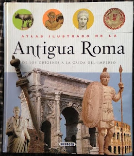 Portada del libro Atlas ilustrado de la Antigua Roma, de varios autores