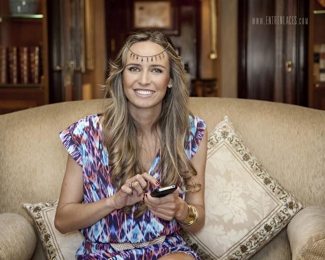 La-Champanera-Ana-Gayoso-maquillaje-My-little-Momó-vestido-tocado-complementos-MIMOKI-localización-Hotel-Intercontinental-fotografia-de-boda-entrenlaces-madrid-asturias