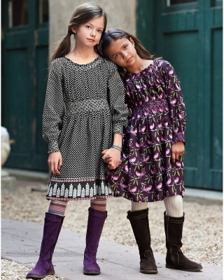 97c4420d03 About this Spot  Mackenzie Foy wore a polka dot Natalie dress by Kit + Lili.