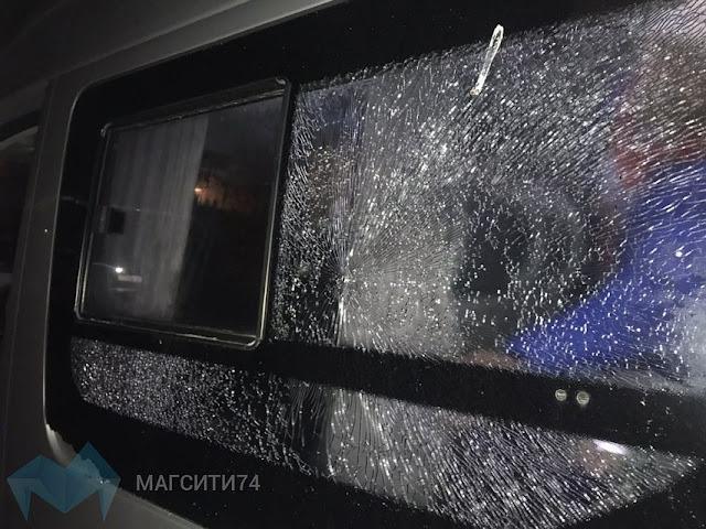 В Башкирии обстреляли автобус с хоккеистами