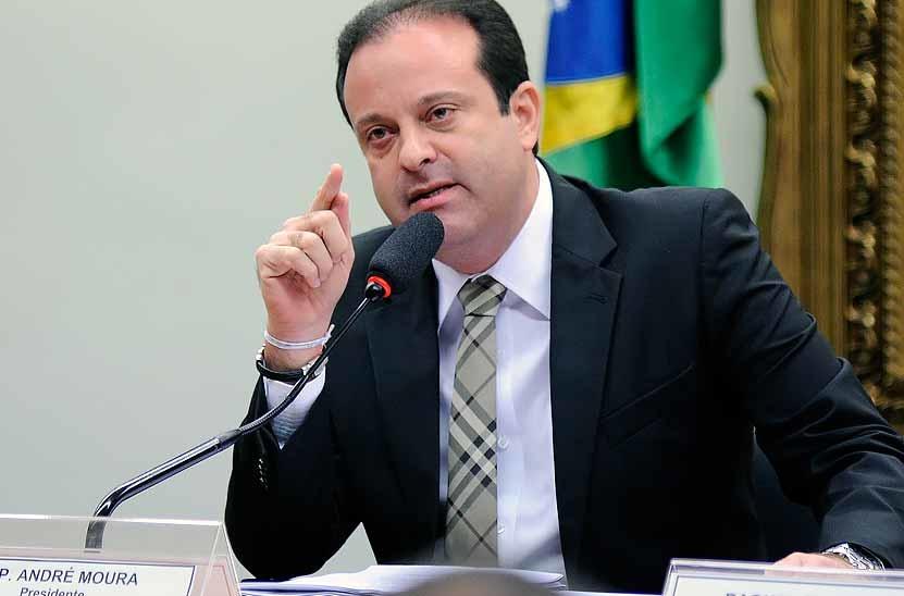 Aliado de Cunha, André Moura está sendo investigado por corrupção na Lava-Jato