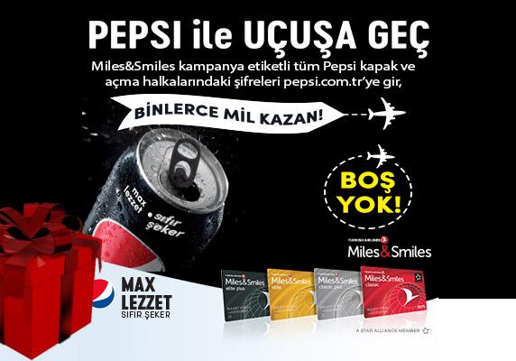 Miles&Smiles, Pepsi Miles Smiles Kampanyası, Pepsi Çekiliş, Pepsi kampanya, Pepsi, Fruko, Güncel Kampanyalar