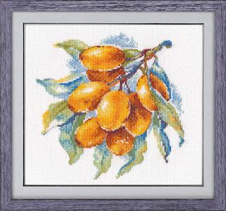 Cross-stitch Oven 1091 «Янтарная ягода»
