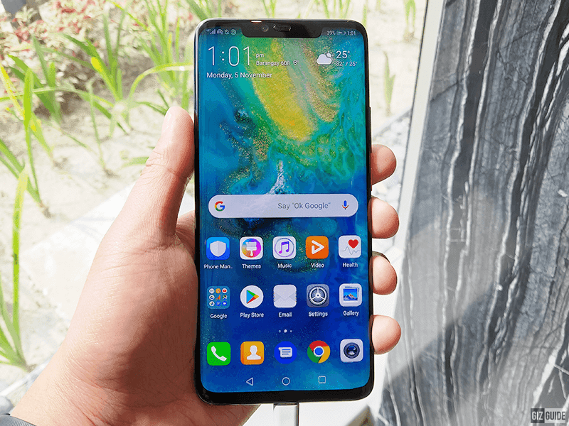 How good is the battery and charging performance of the Huawei Mate 20 Pro?