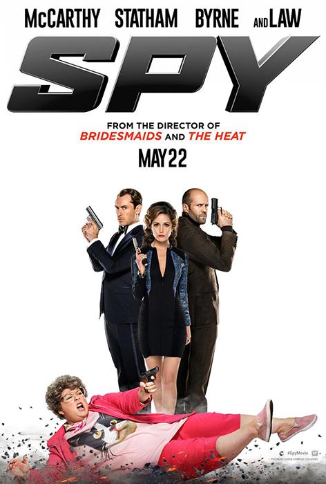 Primul poster pentru comedia Spy