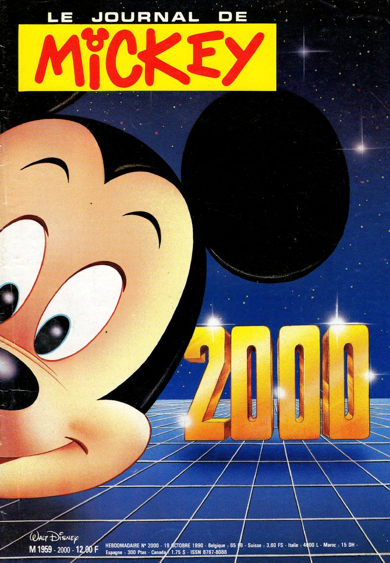 le journal de mickey journal de mickey 2000. Black Bedroom Furniture Sets. Home Design Ideas