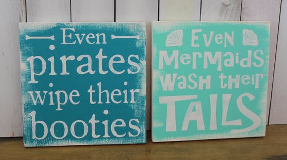 Even Mermaids wash their Tails