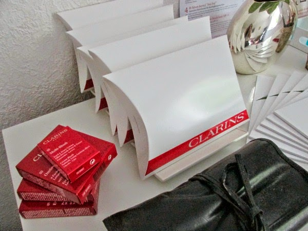 Clarins Beautynista Makeup Workshop Goodie Bags