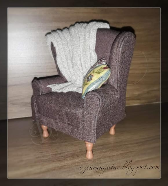 miniature armchair
