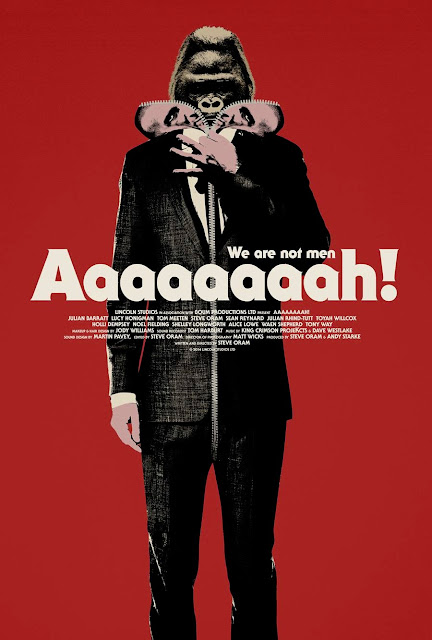 Aaaaaaaah! One Sheet Film Poster
