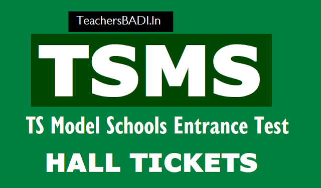 tsms 6th/vi class entrance test 2018 hall tickets,tsms admission test 2018 hall tickets,Telangana ts model schools 6th class entrance test 2018 hall tickets,tsms cet 2018 hall tickets telanganams.cgg.gov.in