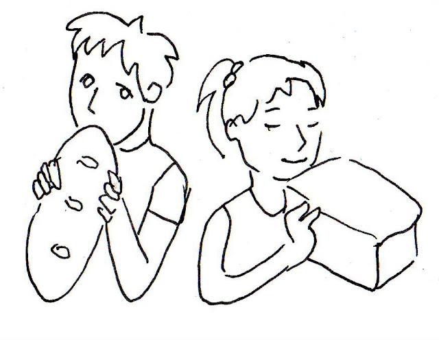 Эвелина Васильева. Дети едят хлеб
