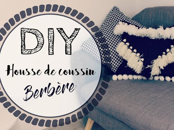 DIY [Housse de coussin inspiration berbère]