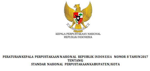 Berikut ini adalah berkas Standar Nasional Perpustakaan Kabupaten  Standar Nasional Perpustakaan Kabupaten - Kota
