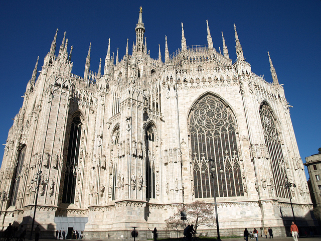 The glorious Milan Duomo. Photo by barnyz.