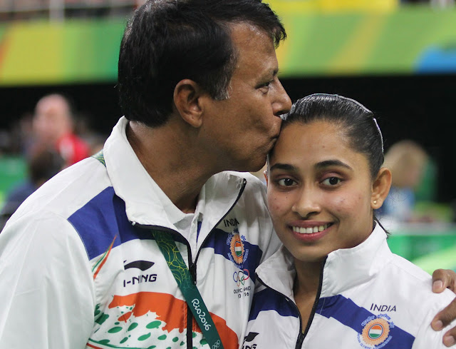 Bisweshwar Nandi, Dipa Karmarkar's coach