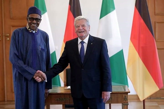 Photos: Pres. Buhari meets with German President, Joachim Gauck