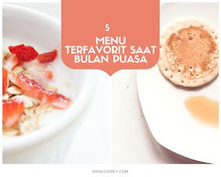 5 menu terFavorit saat bulan puasa