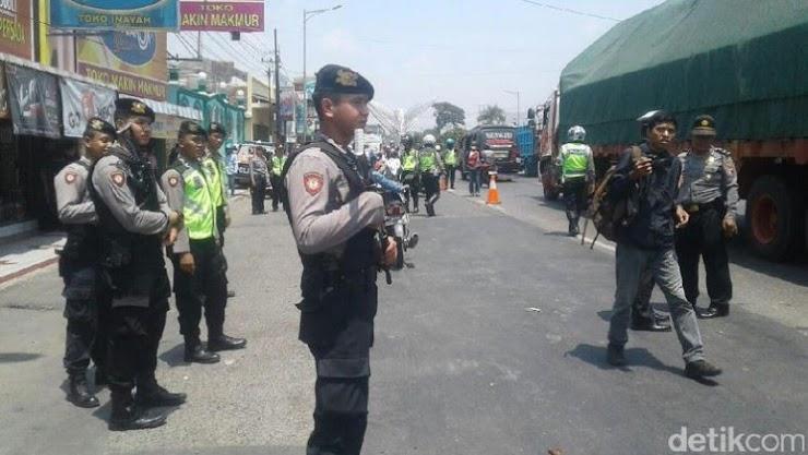Cegah Massa Gabung Aksi Bela Rohingnya, Polisi Kudus Gelar Razia
