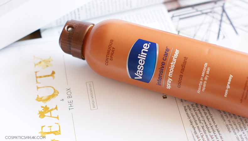 vaseline spray cocoa
