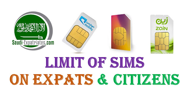 LIMIT OF SIMS ON EXPATS IN SAUDI ARABIA