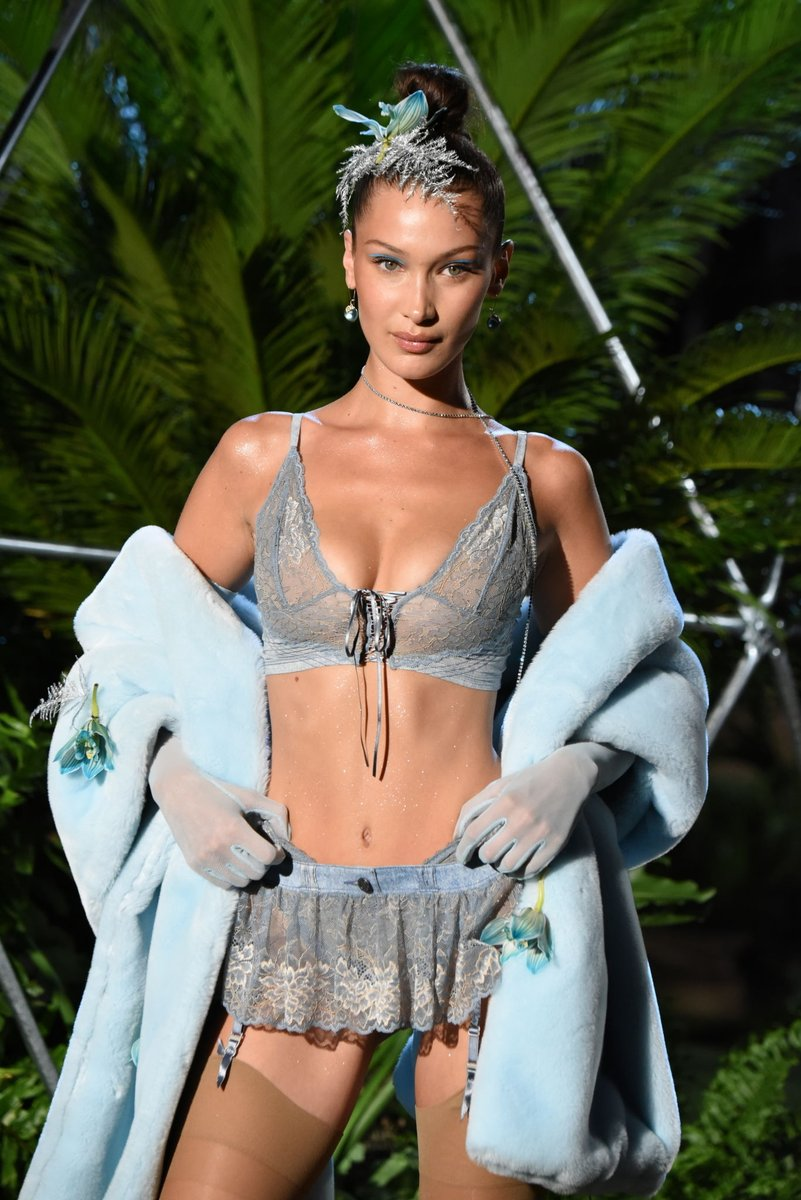 Top Model: Bella Hadid for Savage X Fenty SS19 Runway