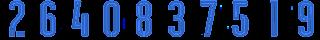 3 2Bblue Kit Numbers Puma 2017
