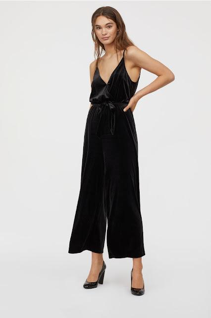 Le chic combi-pantalon en velours - H&M