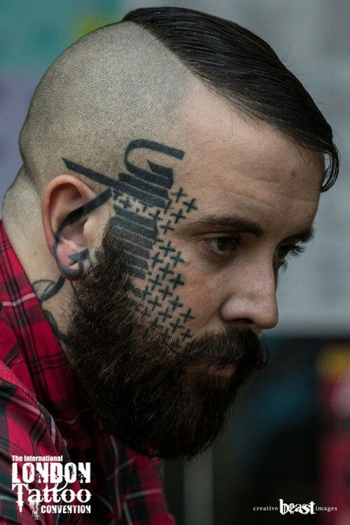 Side Of Face Tattoos: 40 FACE TATTOOS THAT AREN'T TRASHY AT ALL 2016