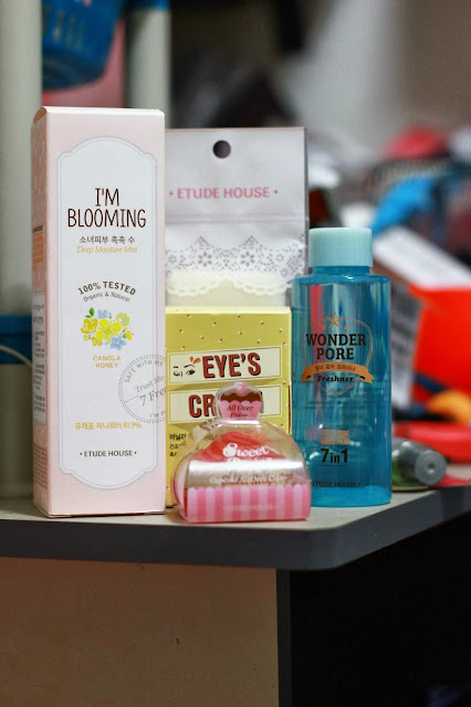 Recent Beauty Haul : Etude House + Hair Care