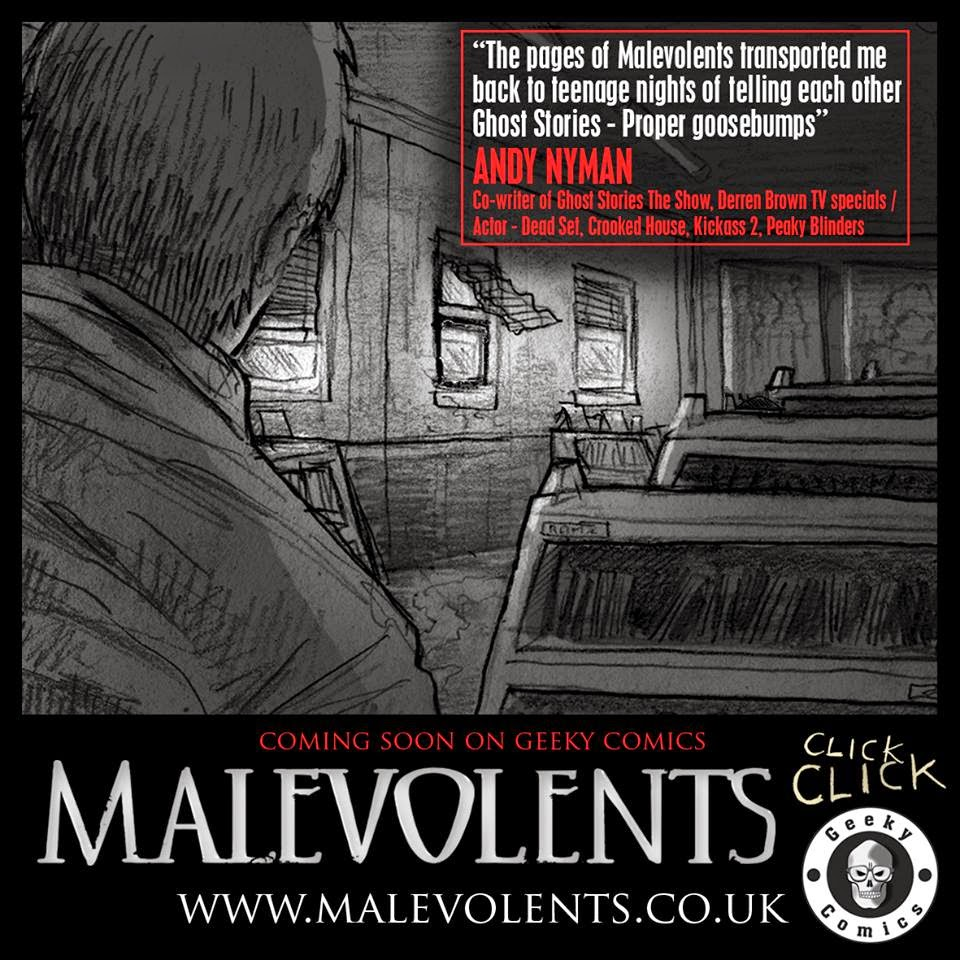 Malevolents Andy Hyman Quote