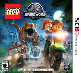 LEGO Jurassic World 3DS ROM Cia / DECRYPTED (EUR/USA) - isoroms com
