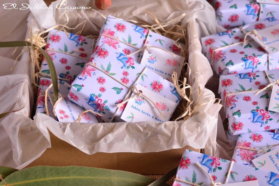 Regalos artesanales navidad jabones hechos a mano