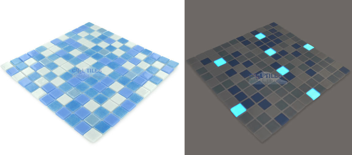 If it 39 s hip it 39 s here archives glow in the dark mosaic - Glow in the dark swimming pool toys ...
