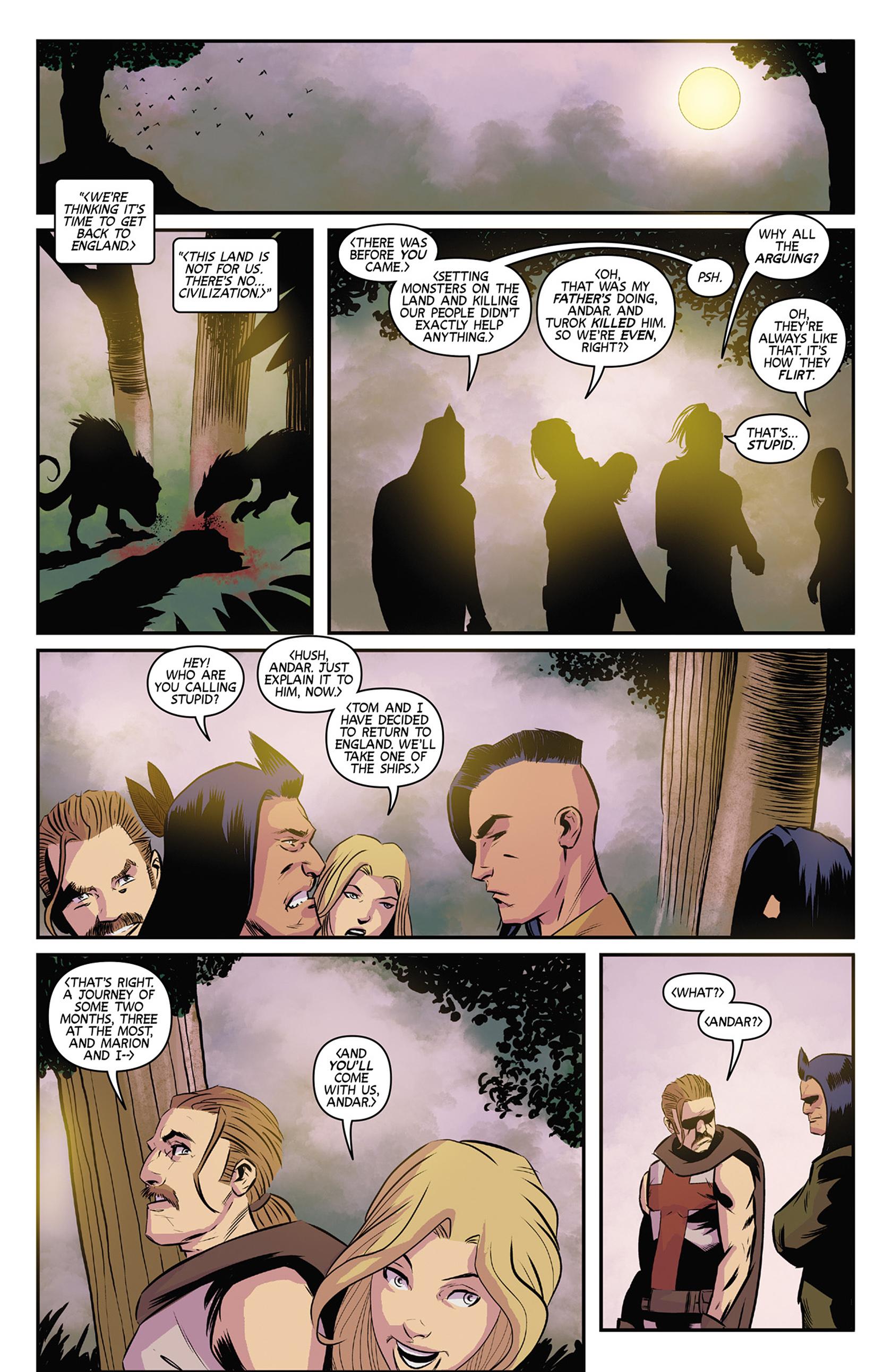 Read online Turok: Dinosaur Hunter (2014) comic -  Issue #9 - 9