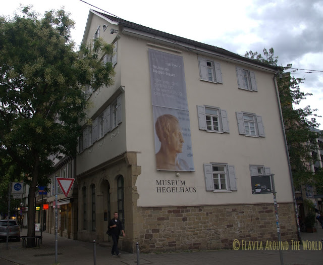 Casa de Hegel en Stuttgart