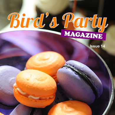 Bird's Party Ideas Magazine Fall Issue 14 Out Now