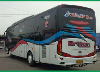 Nomor Telepon Agen Brilian Sleeper Bus  atau Sleeper Bus Brilian