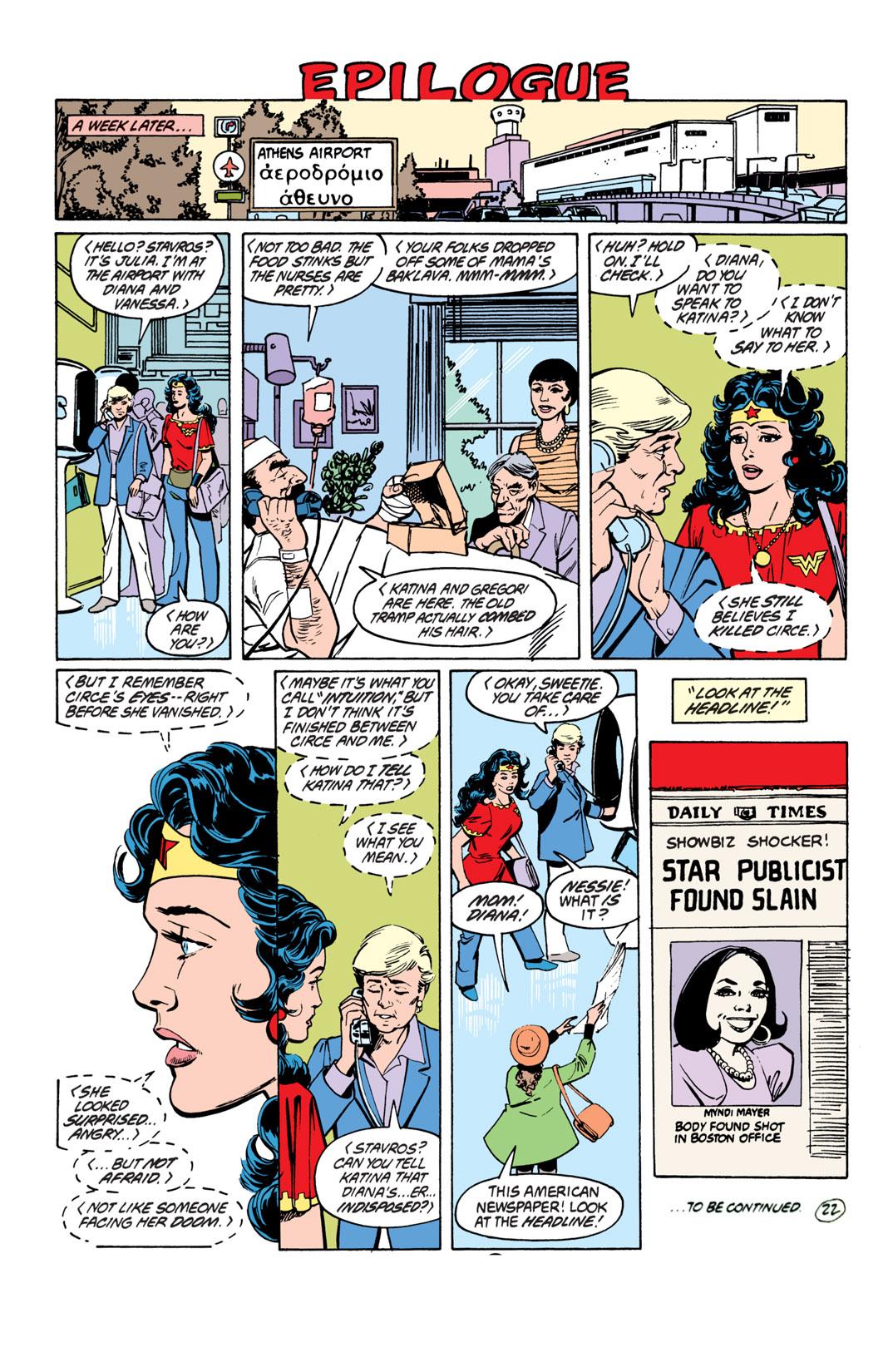 Read online Wonder Woman (1987) comic -  Issue #19 - 23