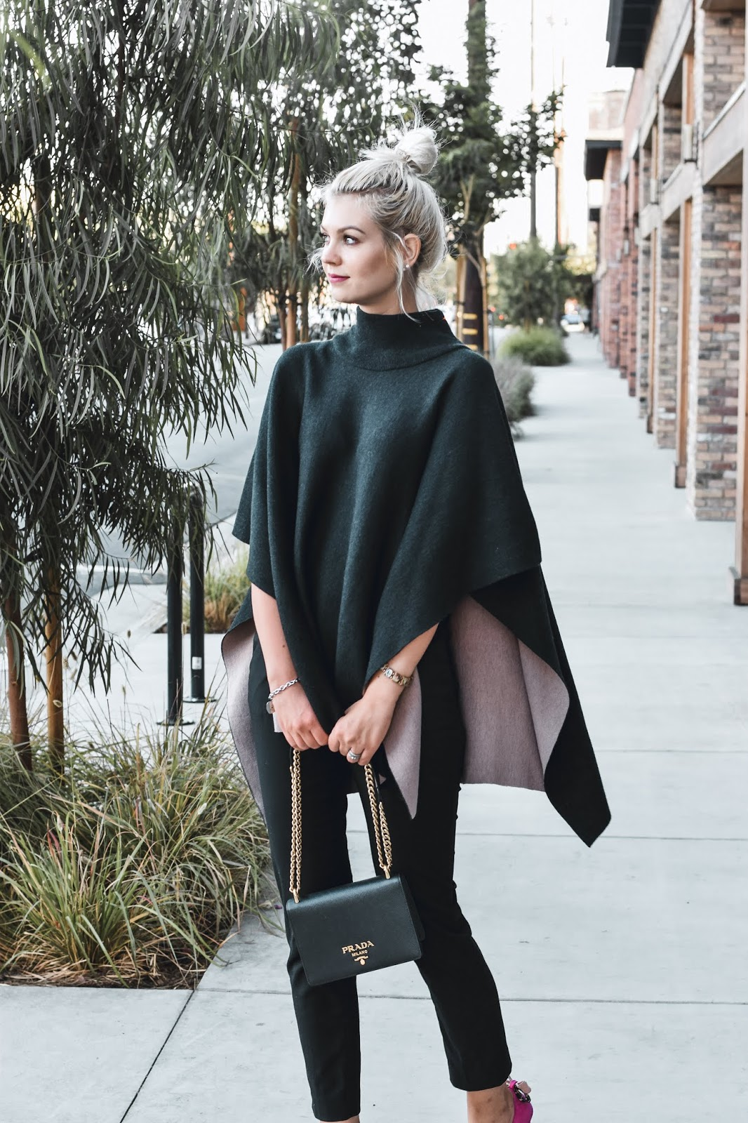 black prada bag