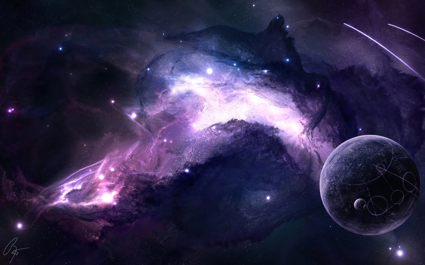 Wallpaper bluos space wallpaper - Top space wallpapers ...