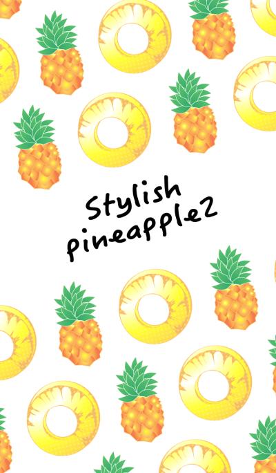 Stylish pineapple 2