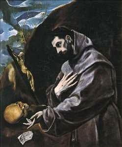 São Francisco Orando - El Greco e suas principais pinturas ~ Maneirismo