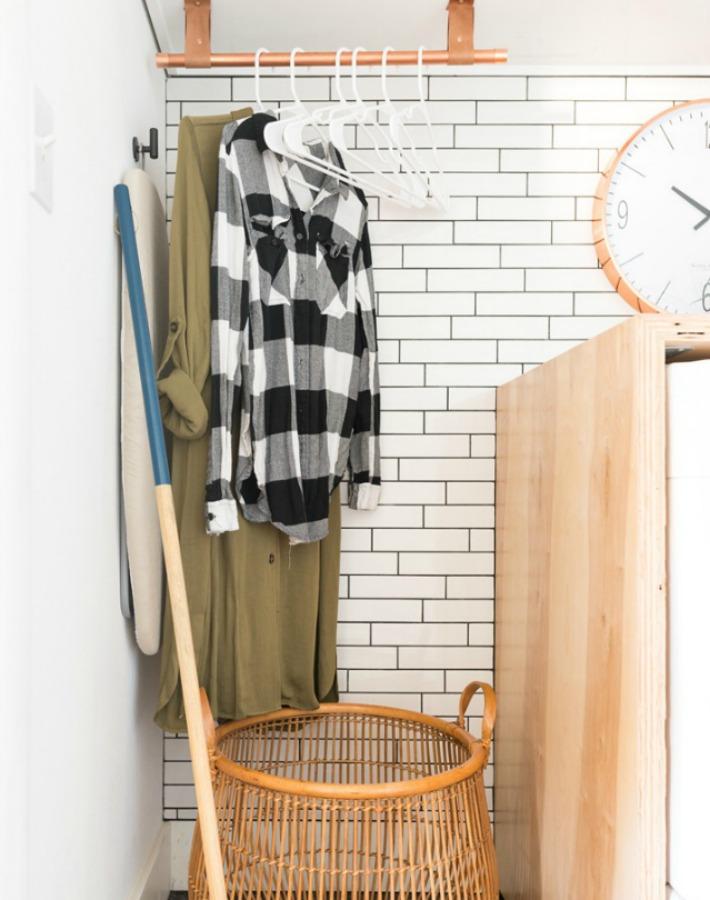 Decoración fácil: paso a paso para crear un cuarto de lavado lowcost