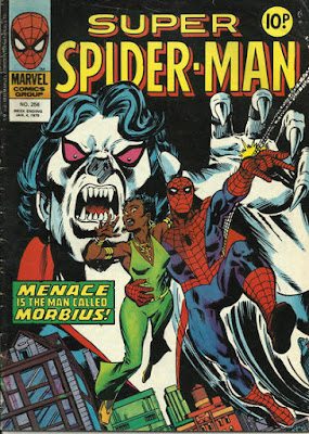 Super Spider-Man #256, Morbius