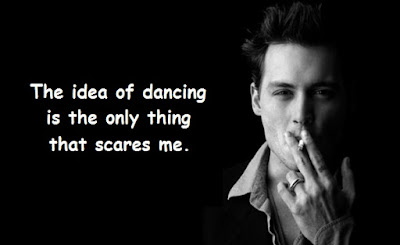 """Johnny Depp Quotes About Dancing"""