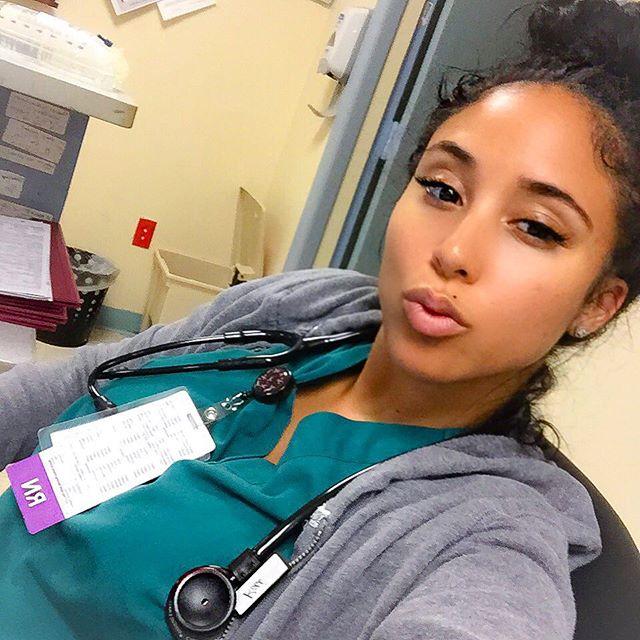 KOKOnista Of The Day: Worlds Sexiest Nurse, Kaicyre